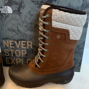 The North Face Shellista Mid Winter Boots NEW 8